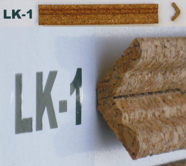 Korkové lišty rohové LK-1