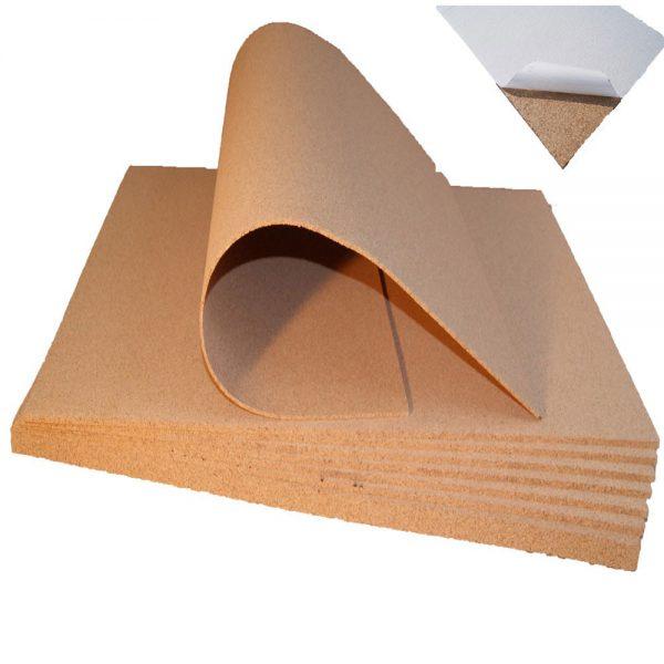 Samolepící korek desky 12mm